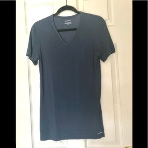 Calvin Klein Shirt Navy Medium...so soft!